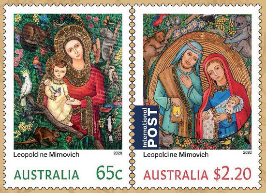 2020_Christmas Stamp pack 550