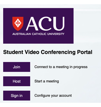 Student Video Conferencing Portal