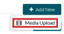 add new media upload only