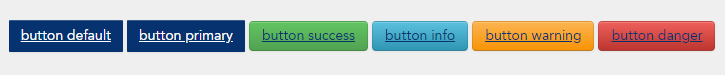 bootstrap buttons in leo as at 201219
