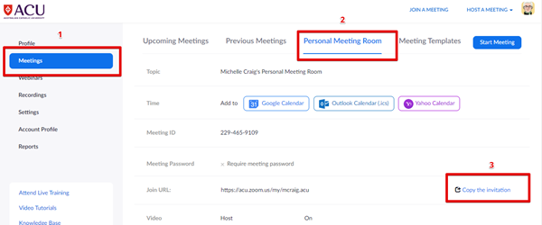 Zoom web meetings pmr copy invitation